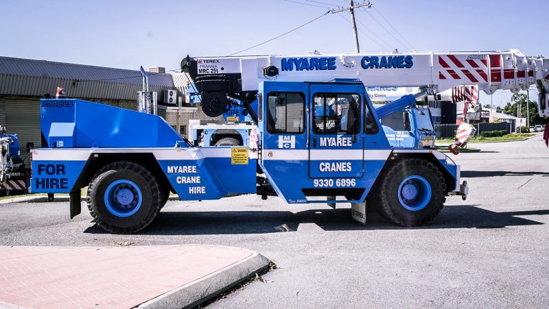 Franna Crane Hire Perth - Myaree Crane Hire