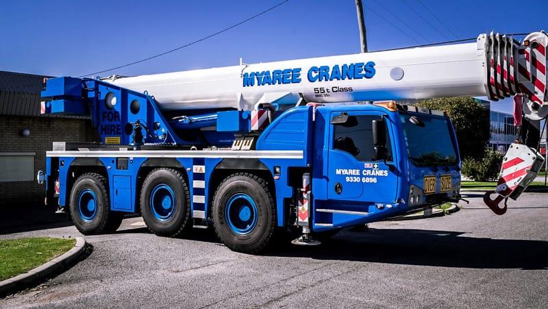 Dual-Lifting Crane Hire - Myaree Crane Hire - (08) 9316 6899