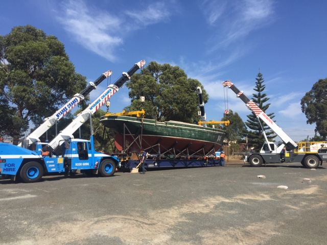Quad Lifting Using Four Mobile Cranes