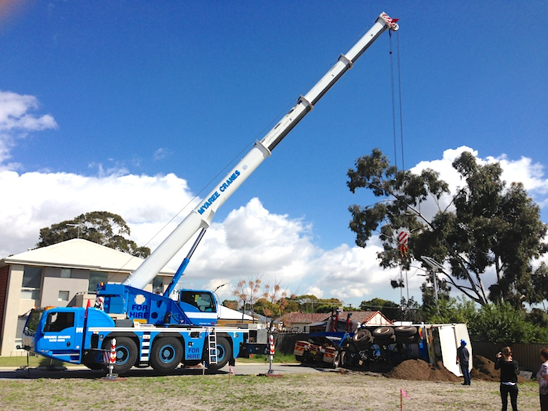 55T All Terrain DeMag Vehicle Recovery