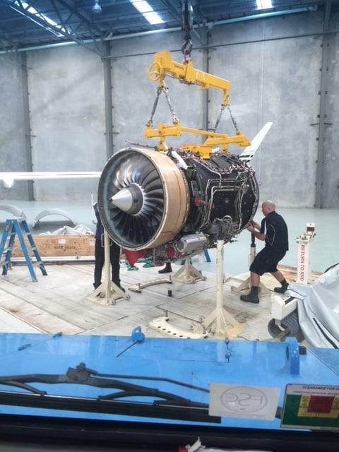 Learjet engine