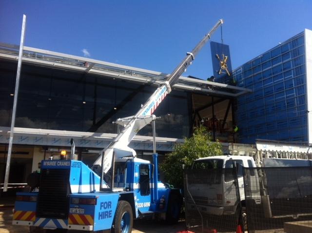 Lifting Glass panels