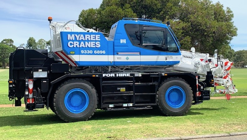 Tadano-20T-Tom-Thumb-City-Crane-Myaree-Crane-Hire