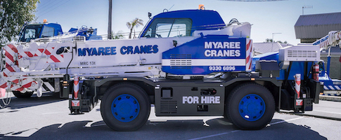 Crane Hire Perth | Myaree Crane Hire | Ph: (08) 9316 6899